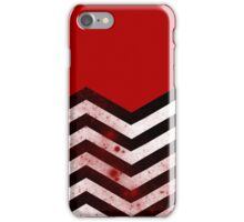 Black Lodge - Bloody Floor iPhone Case/Skin