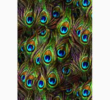 Peacock Feathers Invasion Unisex T-Shirt