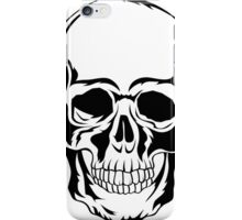 Tattoo Skull Illustration iPhone Case/Skin