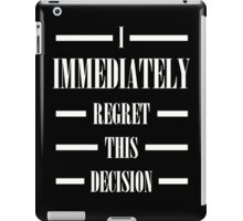 Anchorman Movie Quote iPad Case/Skin
