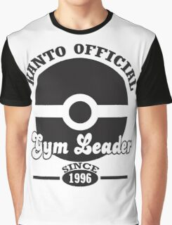 Pokemon Kanto Official Gym Leader Graphic T-Shirt
