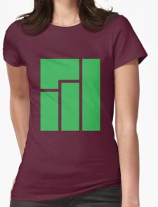Manjaro logo Womens Fitted T-Shirt