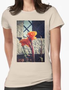 Canna indica #1 Womens Fitted T-Shirt