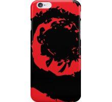 Red spiral iPhone Case/Skin