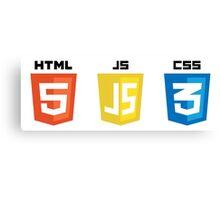 HTML JS CSS Canvas Print