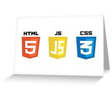 HTML JS CSS Greeting Card