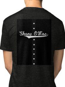 """Shane O'Mac"" McMahon Jersey Style T-Shirt (Pro Wrestling) Tri-blend T-Shirt"