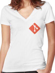 git Women's Fitted V-Neck T-Shirt