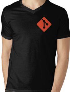 git Mens V-Neck T-Shirt
