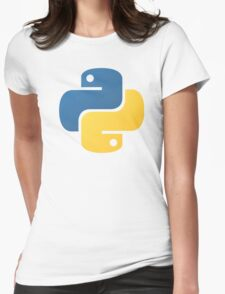 python Womens Fitted T-Shirt
