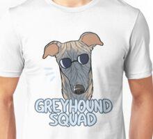 GREYHOUND SQUAD (blue brindle) Unisex T-Shirt