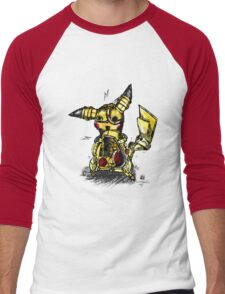 Steampunk Pikachu Men's Baseball ¾ T-Shirt