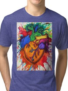 Can you feel my heart? Tri-blend T-Shirt