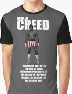 APOLLO CREED WITH PSEUDO'S Graphic T-Shirt