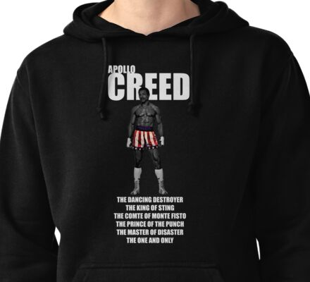 APOLLO CREED WITH PSEUDO'S Pullover Hoodie