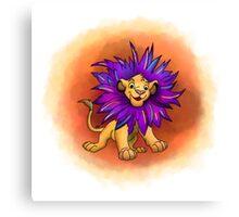 Lion Prince Canvas Print