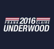 Frank Underwood & Claire Underwood 2016 Kids Tee