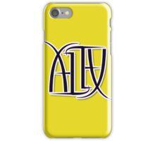 """Alex"" Ambigram (reversible image) iPhone Case/Skin"