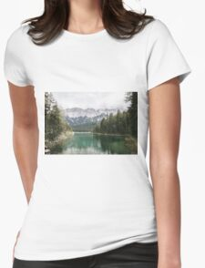 Looks like Canada - landscape photography Womens Fitted T-Shirt
