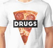 Drugs = Pizza Unisex T-Shirt