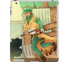 sniper companion iPad Case/Skin