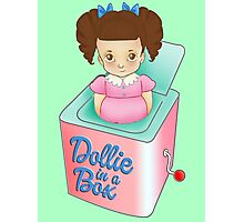 Dollie in a Box Photographic Print