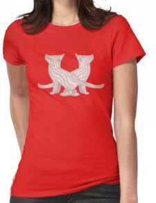 Fox Cubs Womens Fitted T-Shirt