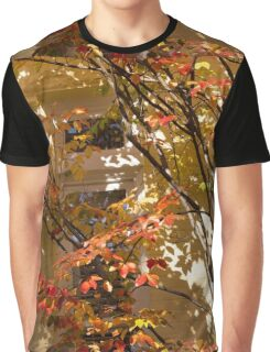 Shapes and Patterns - Enjoying the Colorful Leaves of Fall Graphic T-Shirt