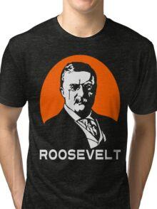 TEDDY ROOSEVELT-2 Tri-blend T-Shirt