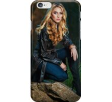 Kat In The Park iPhone Case/Skin