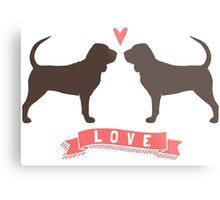 Bloodhounds Love Metal Print
