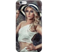 Kat In The Hat iPhone Case/Skin