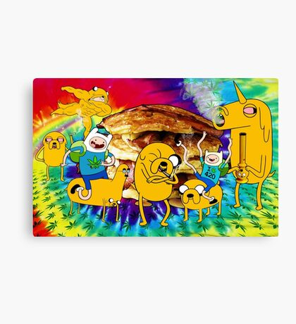 Adventure Time Bacon Pancakes Canvas Print