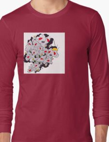 Ginkgo Pop  Long Sleeve T-Shirt