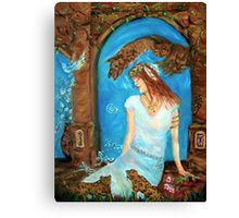 Guardian of the Passages through Time... Canvas Print
