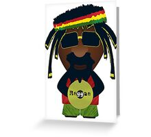 Reggae 0.1 Greeting Card