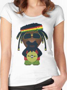 Reggae 0.1 Women's Fitted Scoop T-Shirt