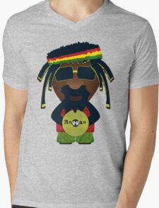 Reggae 0.1 Mens V-Neck T-Shirt