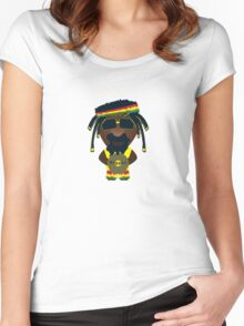 Raggae 2.0 Women's Fitted Scoop T-Shirt