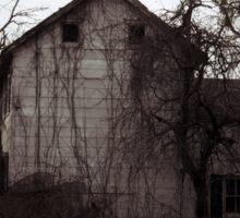 Abandoned house in Cranbury, NJ Sticker