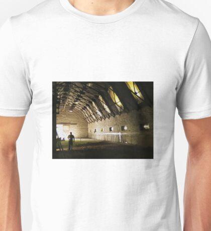 Abandoned barn in New York Unisex T-Shirt