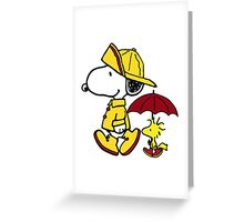 Snoopy Fun Greeting Card