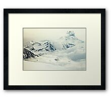Frozen planet Framed Print