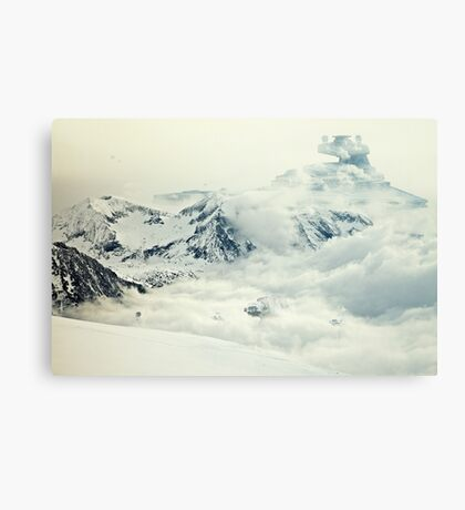 Frozen planet Canvas Print