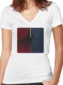 SWR - What I've Become Women's Fitted V-Neck T-Shirt