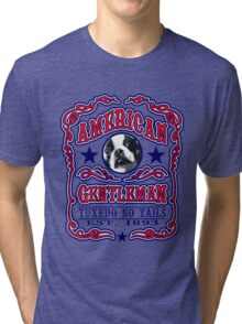 the american gentlman Tri-blend T-Shirt