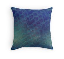 shimmery scales Throw Pillow