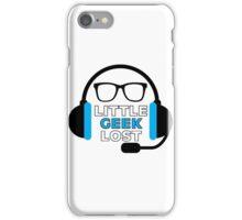 Littlegeeklost podcast logo iPhone Case/Skin
