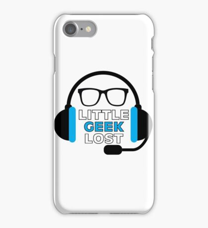Littlegeeklost podcast logo iPhone Case/Skin
