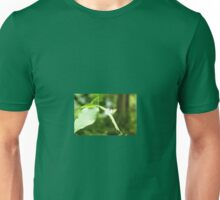 Butterfly on Leaf Unisex T-Shirt